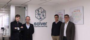 foto del equipo directivo Solver en sus oficinas